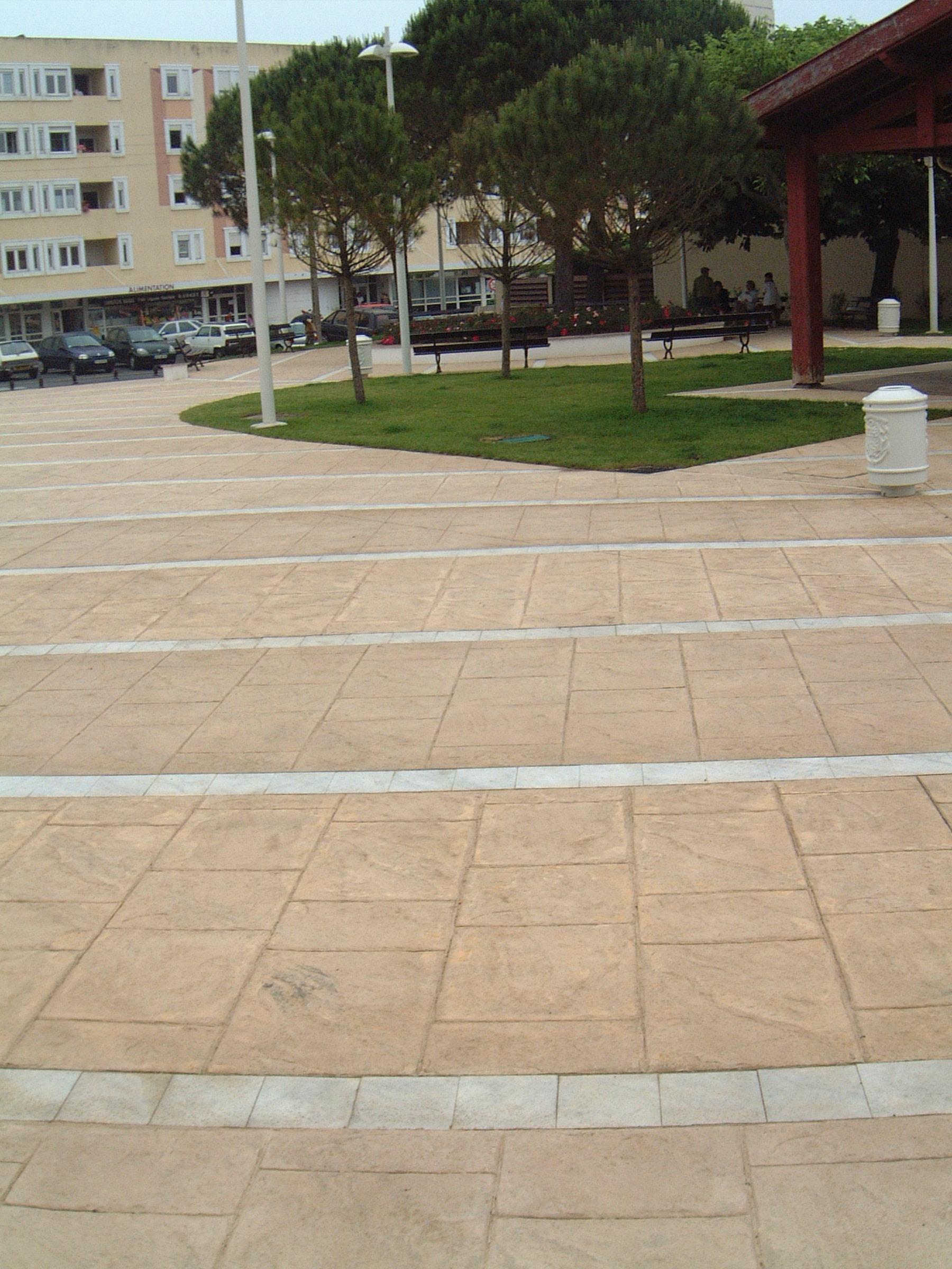 Pavimento de hormig n impreso for Pavimento de hormigon barcelona